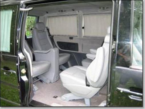 транспортное обслуживание похорон, микроавтобус Mercedes Vito на похоронах