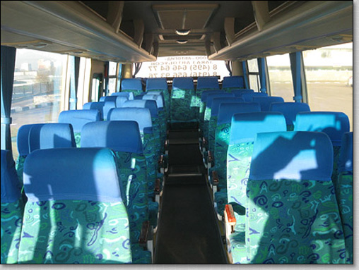 транспортное обслуживание похорон, автобус ShenLong на похоронах