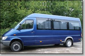 Микроавтобус Mercedes Sprinter - Blue 2