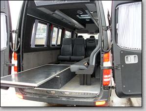 Микроавтобус Mercedes Sprinter - Black 3