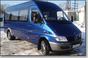 Микроавтобус Mercedes Sprinter - Blue 1