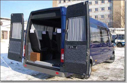 микроавтобус mercedes sprinter - blue 3