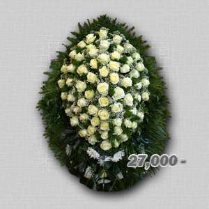 похоронные венки из живых цветов