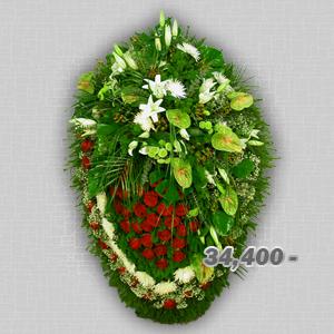 похоронные венки по индивидуальному заказу